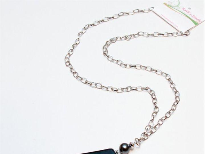 Tmx 1297299264354 BlackcharmnecklaceW Janesville wedding jewelry
