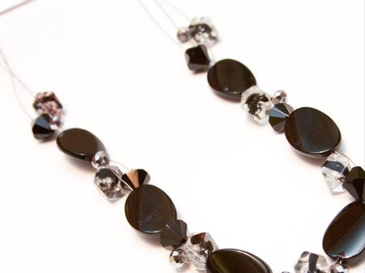 Tmx 1297299289151 Blacknecklace2W Janesville wedding jewelry