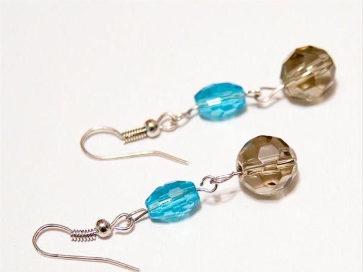 Tmx 1297299327901 BlueandgrayearringsW Janesville wedding jewelry