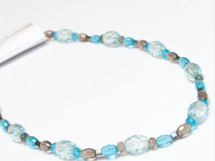Tmx 1297299336369 BlueandgraynecklaceW Janesville wedding jewelry