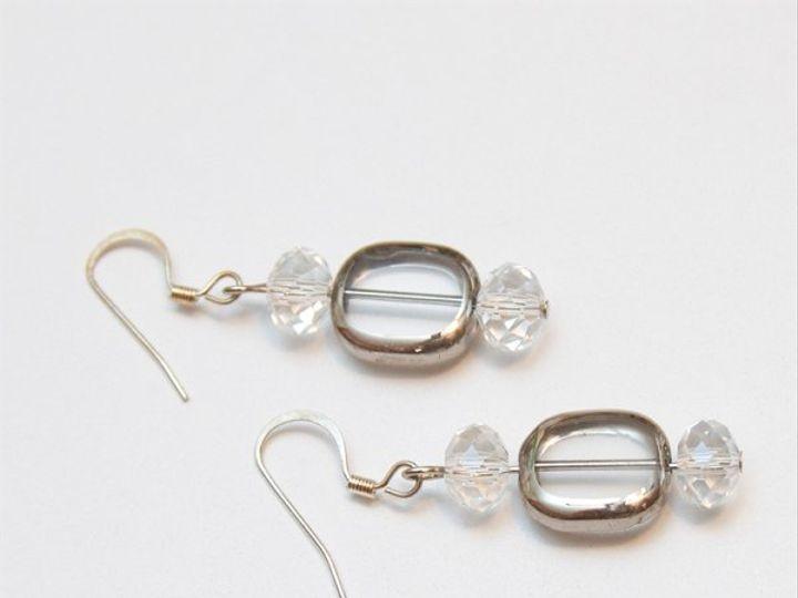 Tmx 1297299374791 ClearandsilverearringsW Janesville wedding jewelry