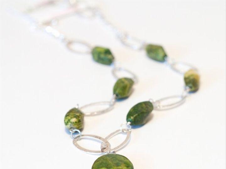 Tmx 1297299460588 GreennecklaceW Janesville wedding jewelry