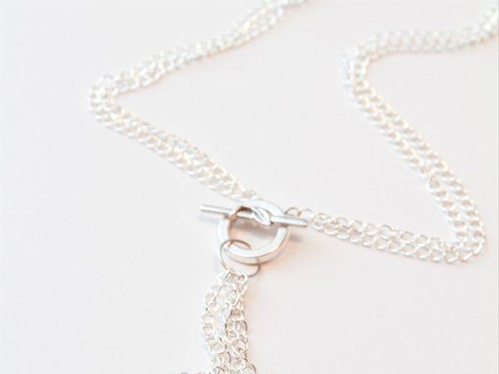 Tmx 1297299496260 PearlandcrystalpendantnecklaceW Janesville wedding jewelry