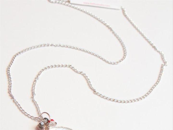 Tmx 1297299580307 RedswirlnecklaceW Janesville wedding jewelry