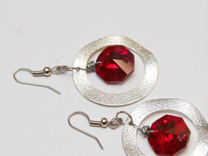 Tmx 1297299621979 SilverandredearringsW Janesville wedding jewelry