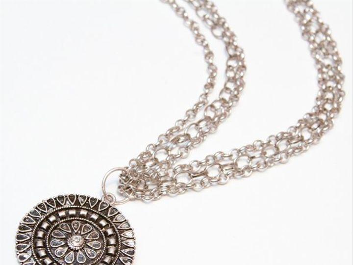 Tmx 1297299685823 SilvernecklaceW Janesville wedding jewelry
