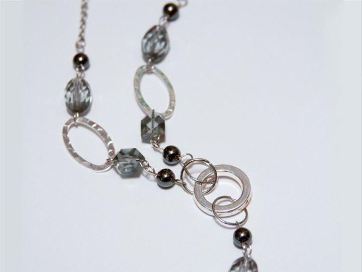 Tmx 1297299708838 SilverynecklaceW Janesville wedding jewelry