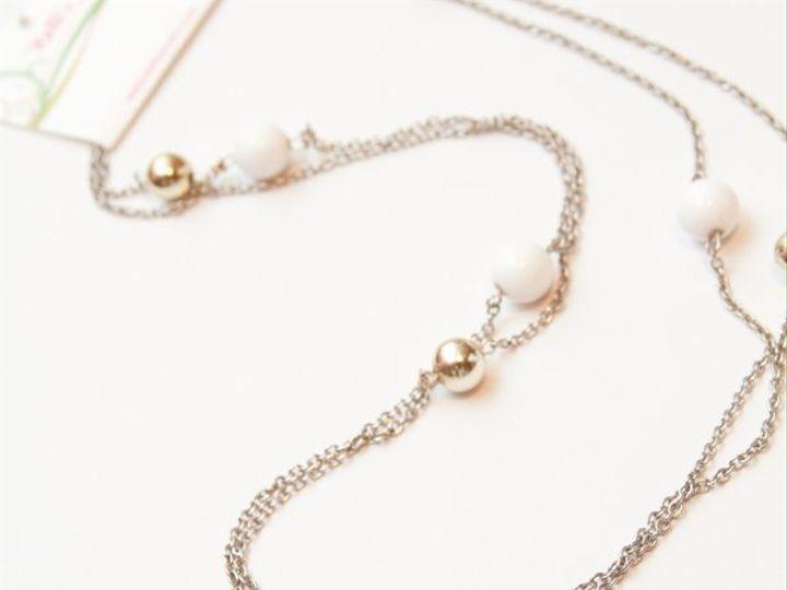 Tmx 1297299730526 WhiteandsilvernecklaceW Janesville wedding jewelry