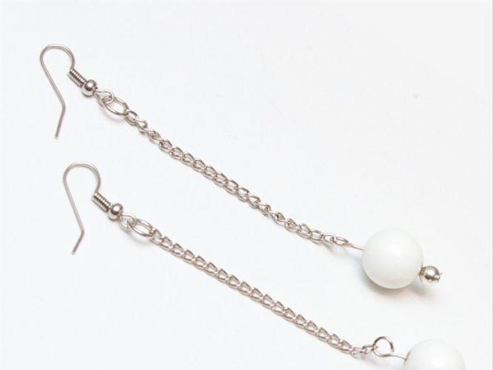 Tmx 1297299744088 WhiteearringsW Janesville wedding jewelry