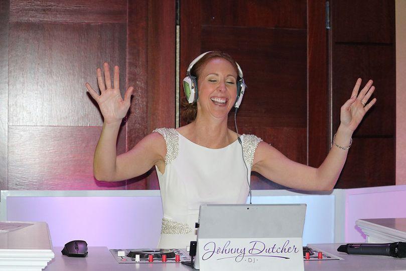 The DJ Bride