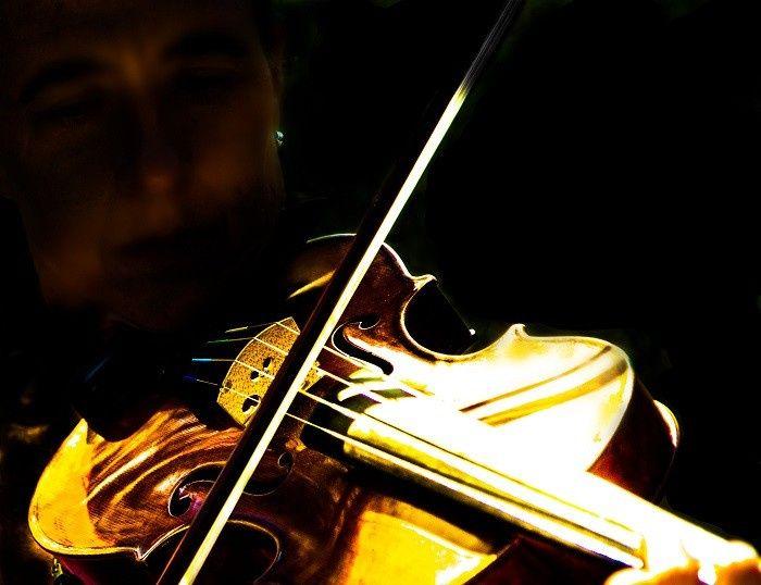 Karen, violin solo