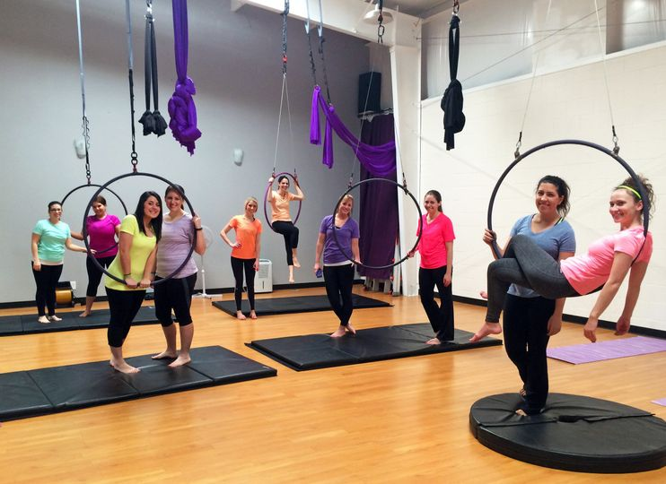 Last fling in a ring! Our aerial hoop parties are a ton of fun and suitable for women of all ages,...