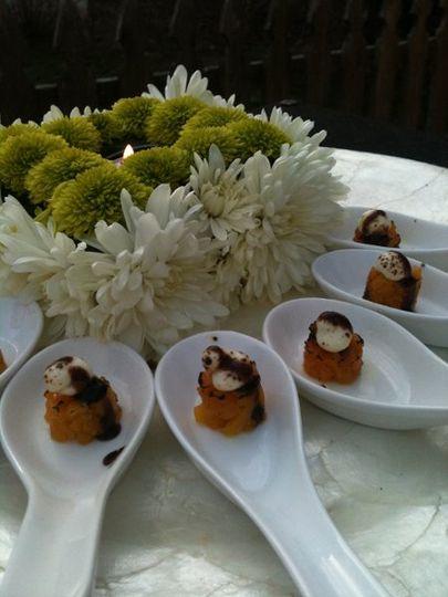 Golden Beet Tartare FDL catering