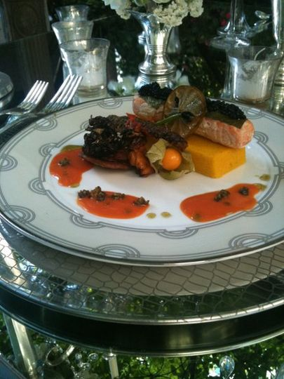 Salmon fdl catering