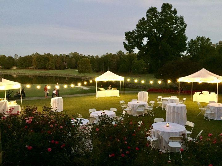 Tmx Outdoor Cocktail Hour At Dusk 51 51062 1556137685 Davidson, NC wedding venue