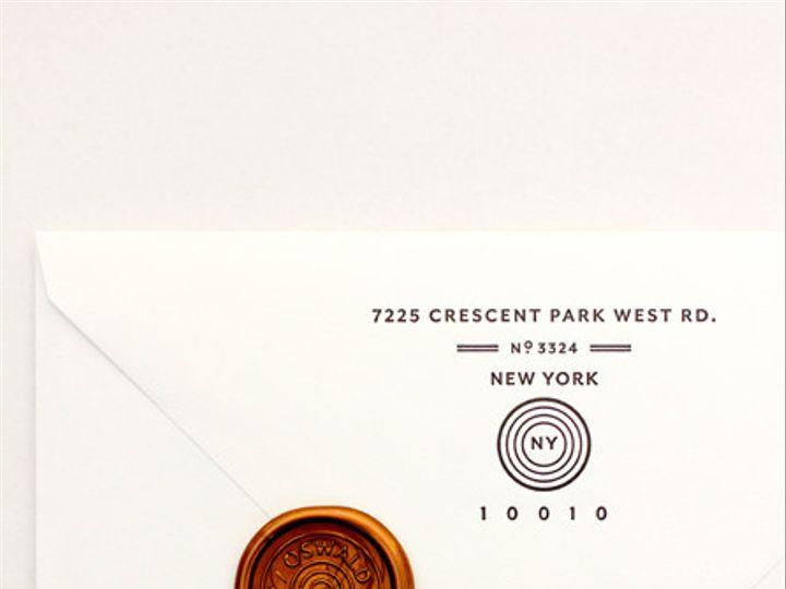 Tmx 1375730536948 Maemaeoswald11 Minneapolis wedding invitation