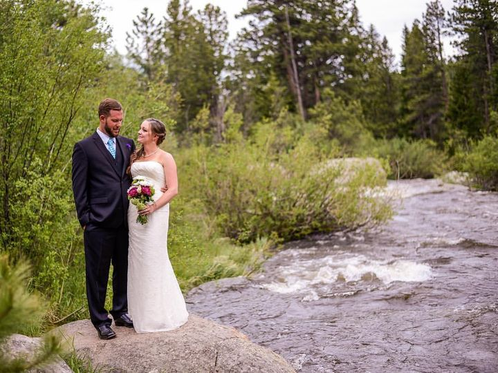 Tmx 1539537703 Ad20b121b3a4538a 1539537702981 47 Couple By River Allenspark wedding venue