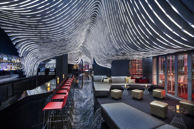 Living room bar & terrace