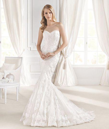 Mullet dress wedding