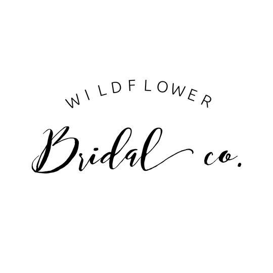 07bde9613b154a16 Wildflower Bridal Logo