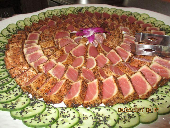 Tuna Tataki Platter
