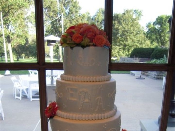 Tmx 1309401458713 RSCN4624 Lenexa wedding cake