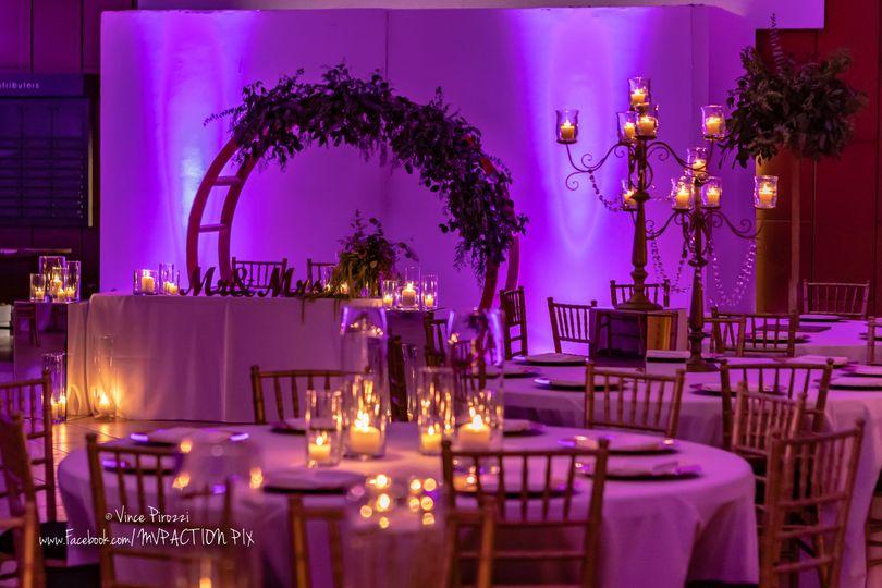 nighttime wedding set up 51 694062