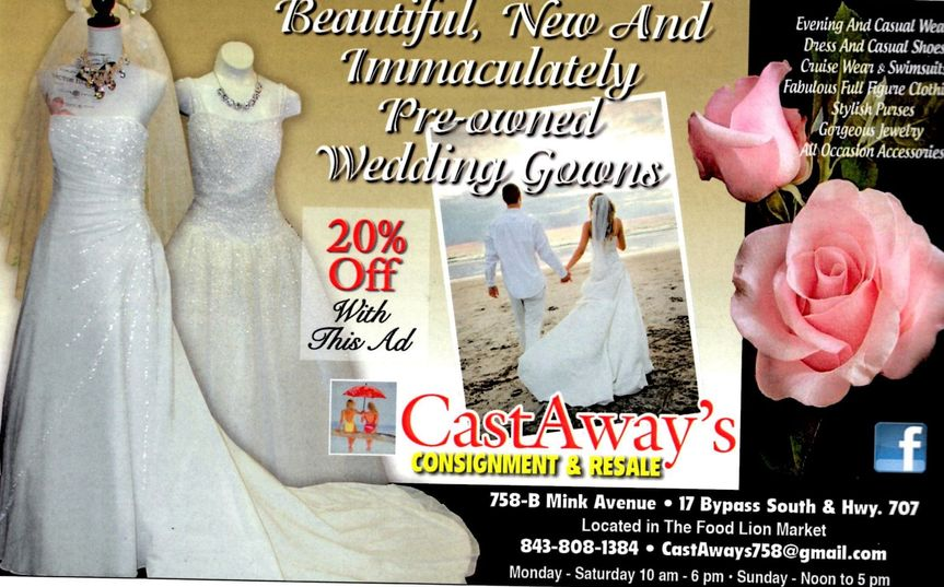 Castaways\'s Consignment and Resale - Dress & Attire - Murrells Inlet ...