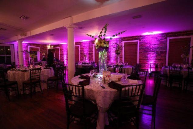 Tmx Uplighting White Room Loft 51 29062 Saint Augustine, FL wedding dj