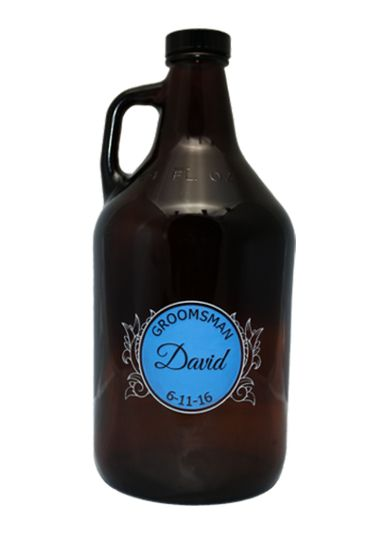 Let the groomsman preserve the taste of their favorite brew with this hand crafted, custom engraved...