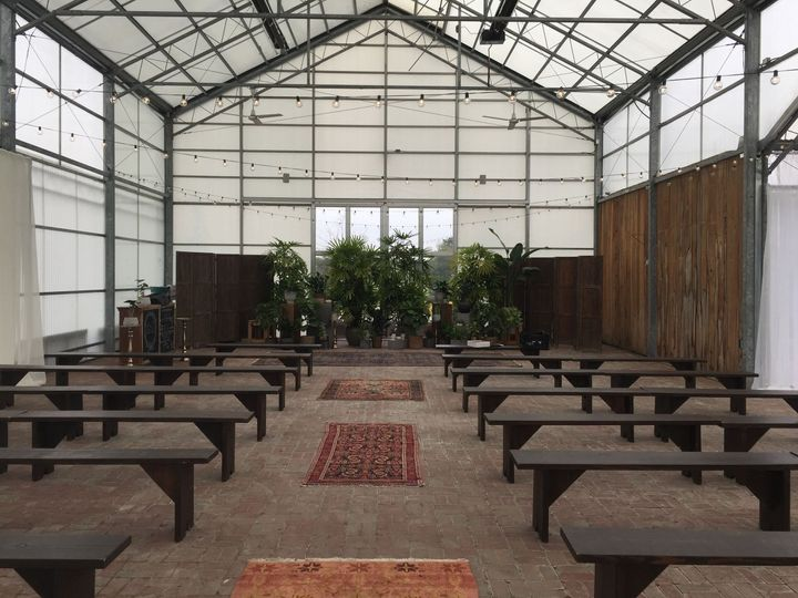 Simple wedding venue