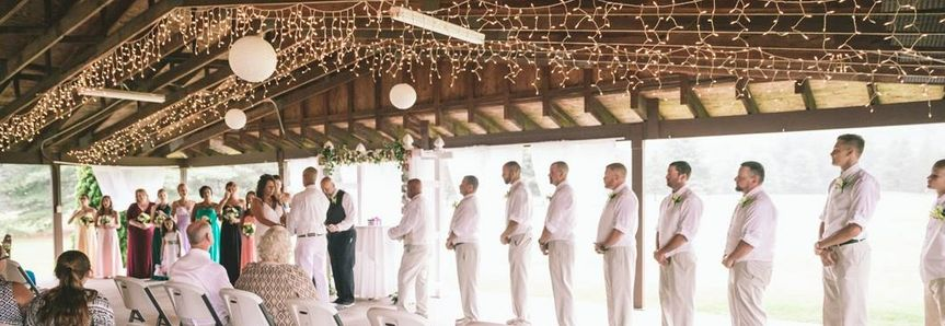 Bridal Party Covered Pavilion