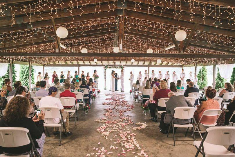 Covered Pavilion Ceremony