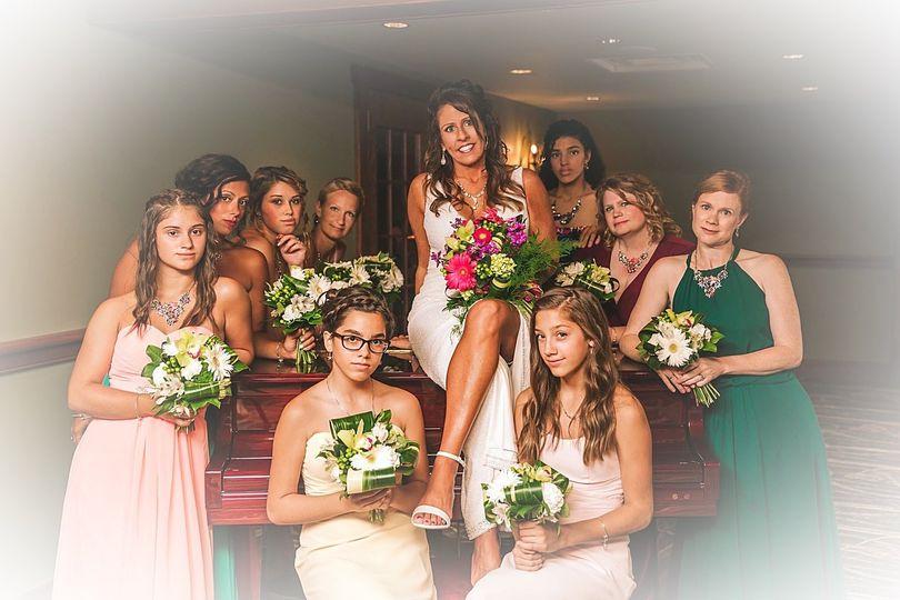 Bride & Bridesmaides