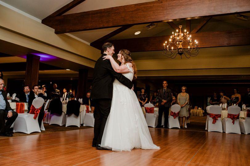 First Dance in Ballroom