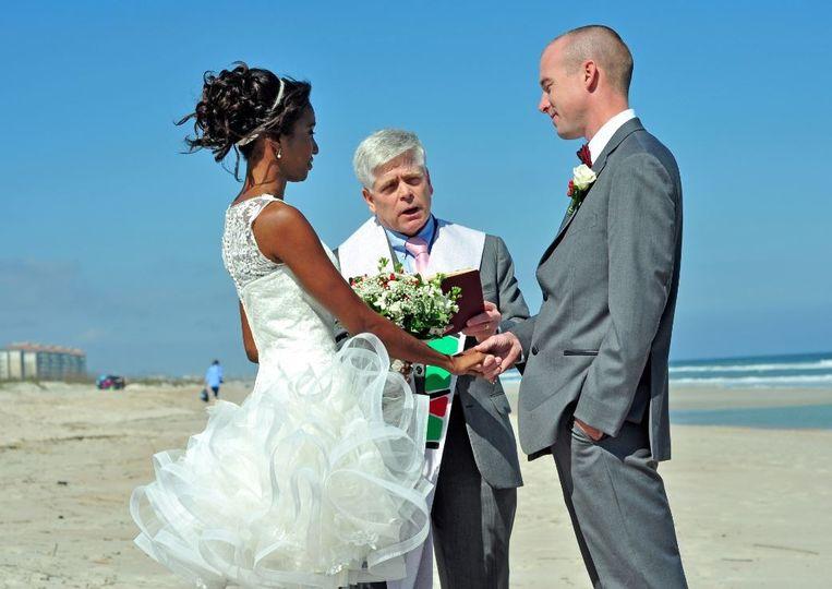 Katyana & Paul exchange vows  2014 Florida
