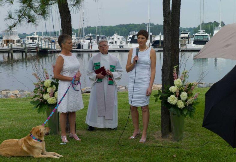Susan & Karen's wedding May 2014 Maryland
