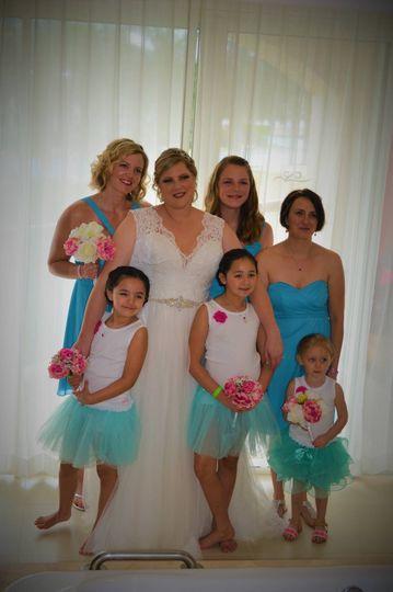 Ladies of the wedding