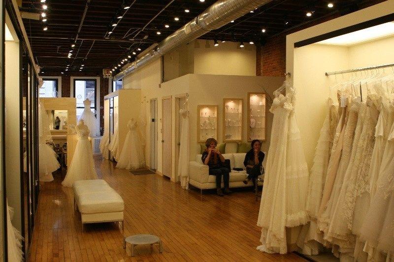 nyc bridal stor