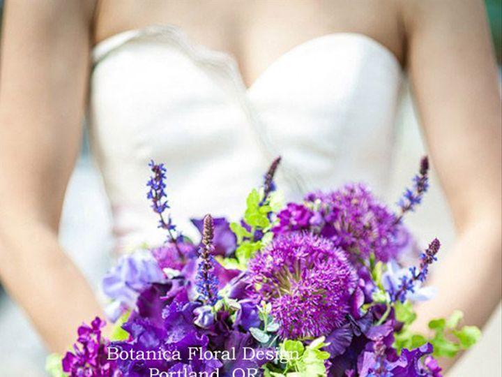 Tmx 1405282830540 Bridalbouquetpurplegreenlocalthefoundrybotanicaflo Portland, Oregon wedding florist