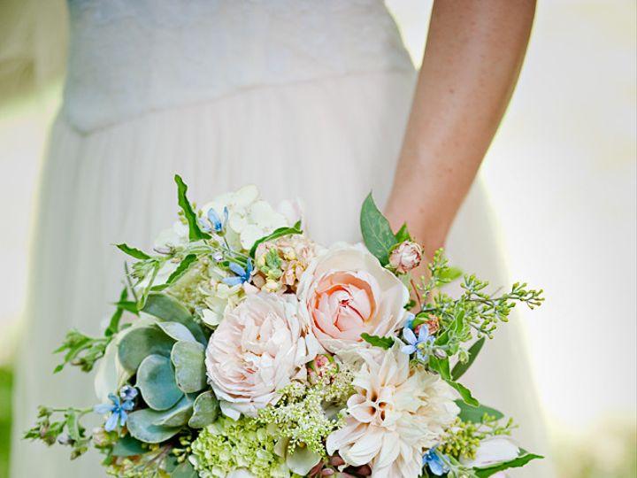 Tmx 1405283473797 Bridalbouquet Creamblushpalebluesucculentsbotanica Portland, Oregon wedding florist