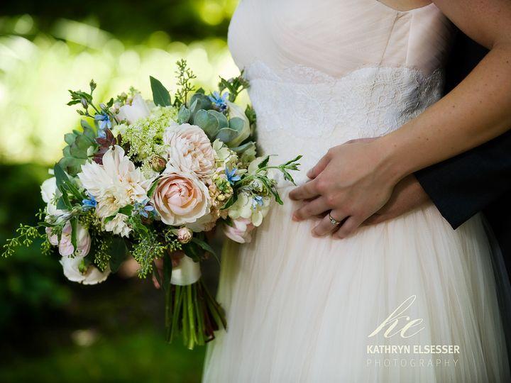 Tmx 1405283482734 Bridalbouquetblushcreampalebluebotanicafloraldesig Portland, Oregon wedding florist