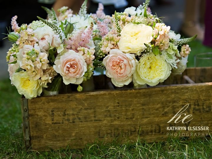 Tmx 1405283495957 Weddingflowersblushyelloscreambotanicafloraldesign Portland, Oregon wedding florist