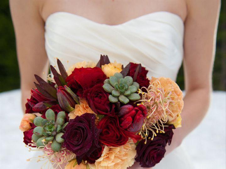 Tmx 1405284343901 Bridalbouquetburgundypeachbotanicafloraldesignmt.h Portland, Oregon wedding florist