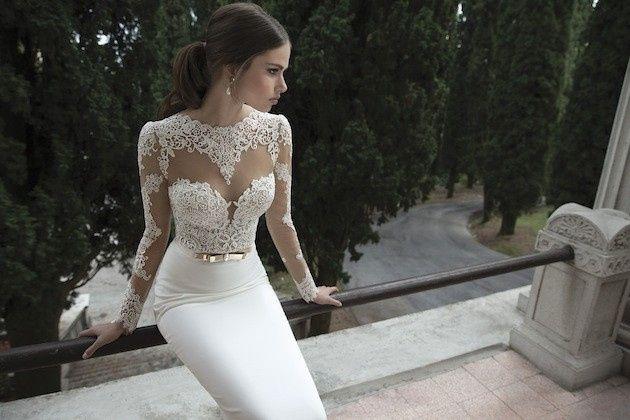deb8baef2ed The Wedding Factor berta wedding dress collection winter 2014 bridal