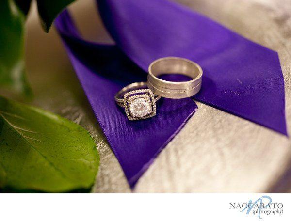 Weddingringshotwithbouquet