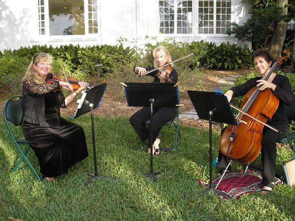 The Trio - Garden Wedding