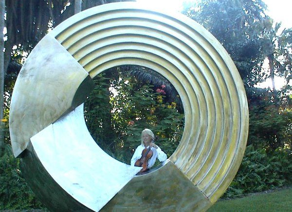 Sculpture at Selby Gardens