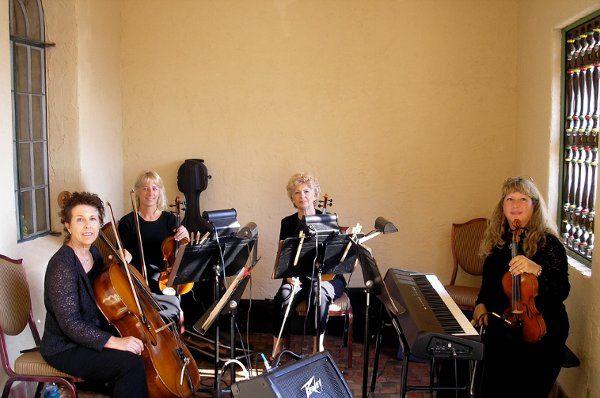 The Quartet at Crosley Mansion