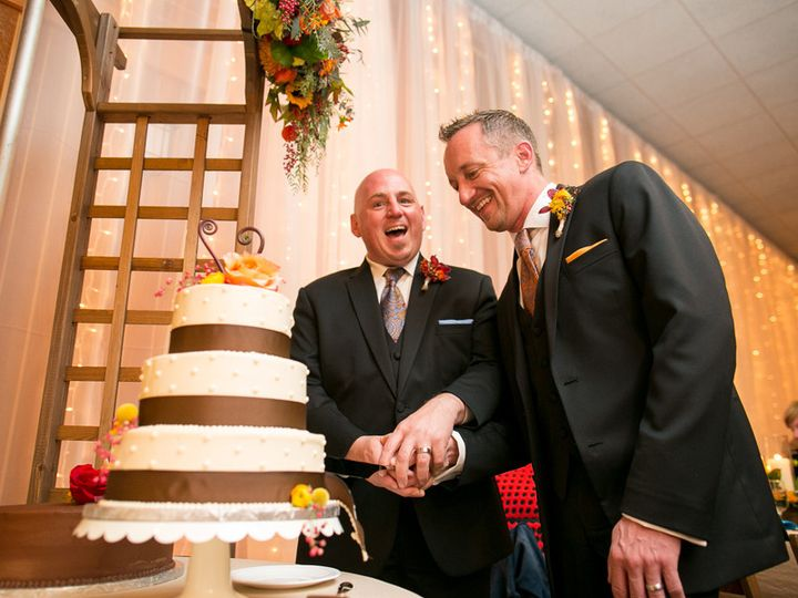 Tmx 1403118281767 Gay Wedding Fall Wedding Madison Wi Lussier Herita Madison wedding planner